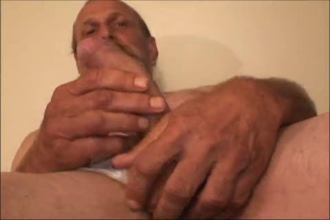 Just A scarcely any Minutes Of A clip I Have, An old ugly dude Shows His nice-looking big Uncut bawdy weenie And bawdy wazoo
