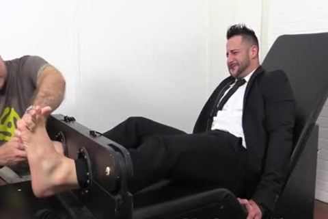 Tone Bodied Yoel Laughs Hard acquires His Feet And Toes Tickled