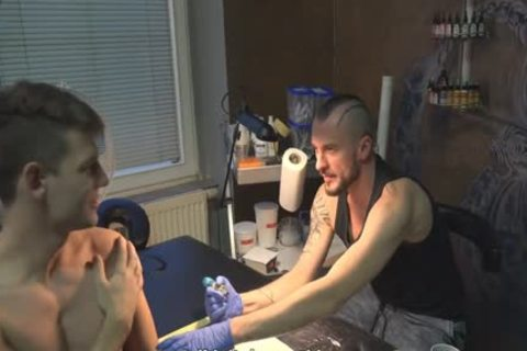 lusty Sex For specie In A Tattoo Studio