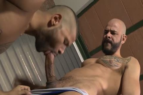 Latin homosexual Casting bed With Creampie