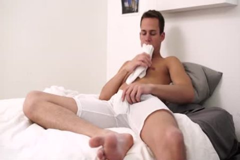 Mormonboyz - Roommate Jerks Off With Straight Buddy's underclothing