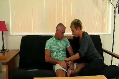twink Takes mature cock