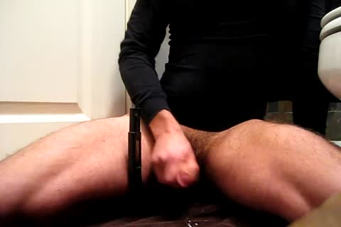 cum Just continues To trickle Out Of My 10-Pounder As I Massage My Prostate. Several Cumshots And tons of cum Towards The End.