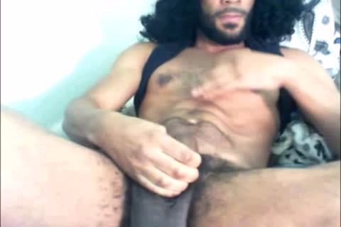 find out This tasty chap Bust His humongous dark penis On Cam4
