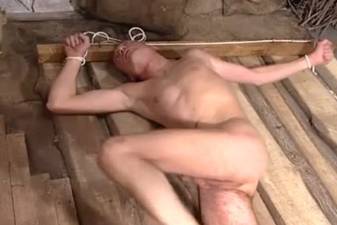 Ready To Spy Upon Ropes And Sex - Scene 2 - All Male Studio