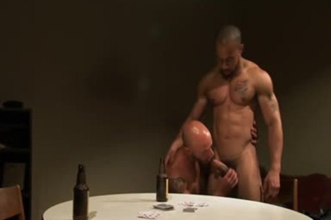 Hung Hunk Cums On penis