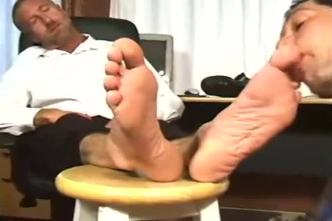 Worship Angry Boss large Feet