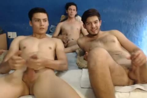 three Mexican lusty men,wonderful dongs,dirty poopers