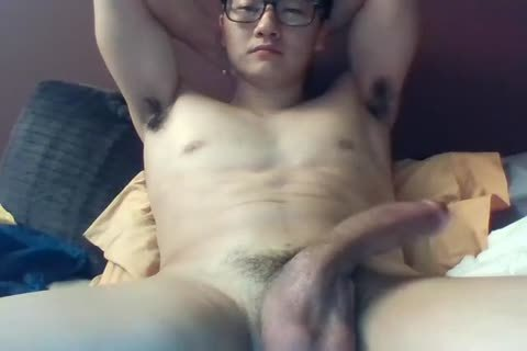 A big Dicked South Korean twink Jerks And Cums