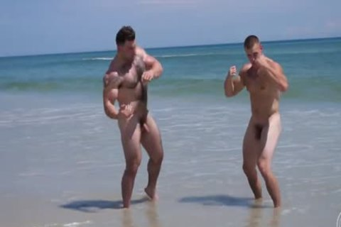 nude Muscle Beach - Jack And Jason