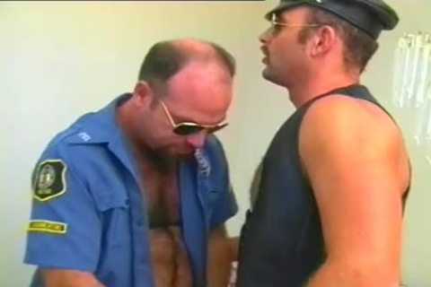 lascivious Cop Has A Fetish For Leather And Hard schlongs