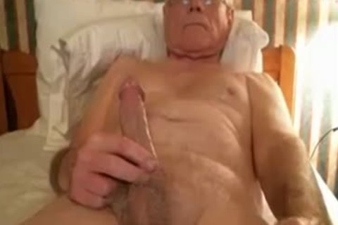 grandpapa wank On webcam
