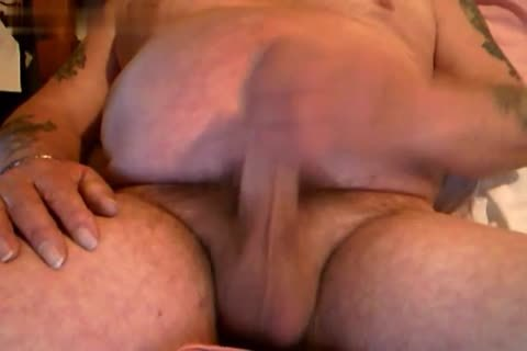 Openup big ramrod Daddy Bear jack off And cum Homemade Collection